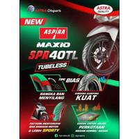 BAN LUAR ASPIRA MAXIO SPR 40 100/80-14 TUBELESS BAN BELAKANG MATIC