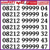 Nomor Cantik Simpati Kartu Perdana Telkomsel PANCA 99999 RAPIH