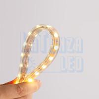 Lampu LED STRIP SELANG SMD 5050 220v PERMETER OUTDOOR Warm White