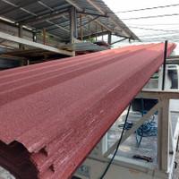 Atap Spandek Pasir 0,30 - Merah