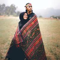Kain Tenun Etnik Lombok BLK840