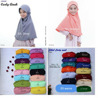 JILBAB ANAK VANIA MODEL CURLY ANAK 4-7 TH ORI ASLI