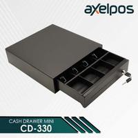 Laci Kasir Mini / Cash Drawer Mini Laci Kasir POS Axelpos CD 330