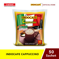Indocafe Cappuccino (50 sachet)