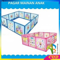 RB-M17 Pagar Bayi Play Fence A999-22 Karakter Pagar Mainan Anak / Paga