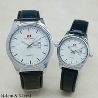 Jam tangan Couple Swiss Army Kulit