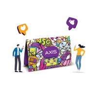Kartu Perdana Axis / Starterpack Axis 0k 4G LTE NOMOR SEGEL