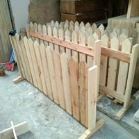 pagar/pembatas ruangan kayu jati belanda ukurn P.150xT.70cm
