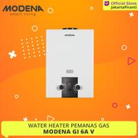 Pemanas Air Gas Modena GI 6 AV 6A V Water Heater Gas - PROMO