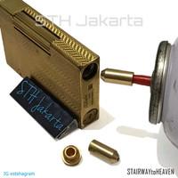 adapter st DUPONT lighter gas tool refill aksesoris korek api