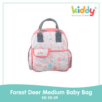 Kiddy Forest Deer Medium Baby Bag/ Tas bayi -5039