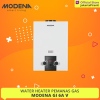 Pemanas Air Gas Modena GI 6 AV - Water Heater Gas
