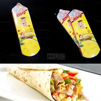 Dus Kebab Color Full Besar - Dus Kebab - Packaging Kebab Besar - 50 PC