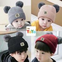 Topi bayi rajut newborn / Kupluk bayi rajut / Topi kupluk bayi pom pom