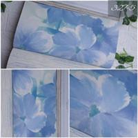 [MURAH] Jual wallpaper dinding motif bungaa