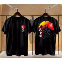 Kaos Pria Distro Samurai Sunset OP113 Fashion Pria Baju Pria