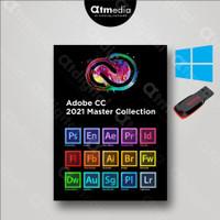 Adobe CC Master Collection 2021 Full Version - USB FLASDISK