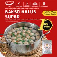 Bakso Warisan Ibu isi 20 Buah Halus (Frozen Food/Bakso Sehat/Cemil)