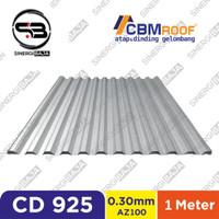 CBMROOF CD 1040/1000/925 Atap Galvalume/Zincalume/Spandek