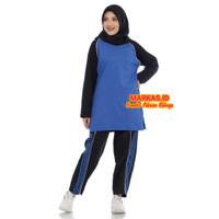 Setelan Baju Trening Olahraga Muslim seragam