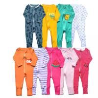 [LKP002] Baju Tidur Sleepsuit Bayi Zipper Lengan Panjang