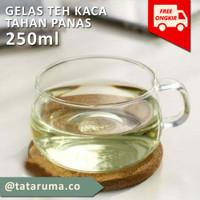 ARA - Gelas Teh / Gelas Kopi / Gelas Cappucino 200ml satuan