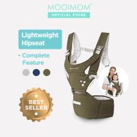 MOOIMOM Lightweight Hipseat Carrier Gendongan Bayi - Biru