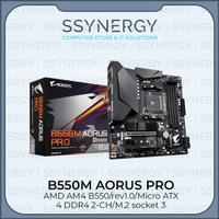 Gigabyte B550M Aorus Pro (AM4, AMD Promontory B550, DDR4, USB3.2)