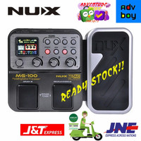 NUX MG100 Efek Gitar NUX MG 100 Modelling Guitar Processor EffectPedal