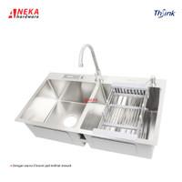 Kitchen Sink / Bak Cucian Piring 2 Lubang merk THSINK 8245