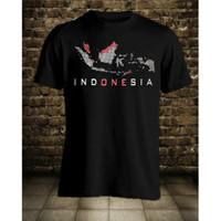Kaos Pria Distro Indonesia OP003 Fashion Pria Baju Pria - Hitam, L