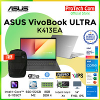 "LAPTOP ASUS K403FA - i5 8265U 8GB SSD 512GB INTEL HD 14"" FHD W10 RESMI"