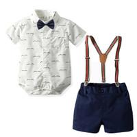 BABYPOTATO - Baby Suspender Suit motif (SUS-03)