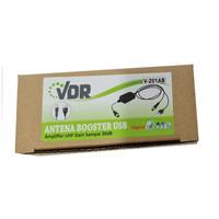VDR V-201AB Antena Booster USB Amplifier UHF Penguat Sinyal Antenna TV