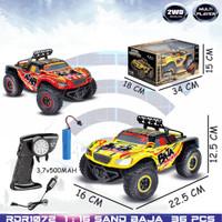 Mainan Mobil Remote Control Ban Besar Sand Monster Baja 1:16 Rc Offroa