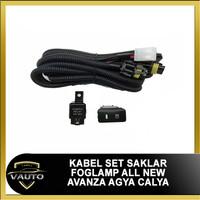Kabel Set Saklar Tombol Lampu Foglamp All New Avanza Agya Calya