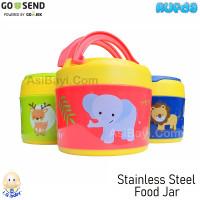 IQ Baby Stainless Steel Food Jar Baby Food Grade 304 Wadah Makanan