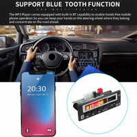 TAPE MOBIL MP3 FM RADIO BLUETOOTH AUX 12V REMOTE