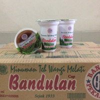 Teh Bandulan varian melati cup 120 ml 24 cup