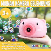 Mainan Bubble Camera Electric Kamera Balon Air Sabun Anak Edukatif