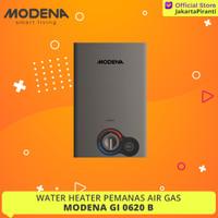 Water Heater Gas Modena GI 0620 B - Pemanas Air Gas LPG