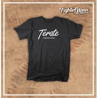 Baju Kaos Tshirt Pencak Silat TERATE Cotton Combed30s kualitas distro
