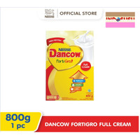 DANCOW Fortigro FULL CREAM / INSTANT / COKELAT 800gr 800 gr