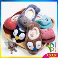 RB-P15 Sepatu Prewalker Kaos Kaki Korea Anak Bayi Kaus Kaki Bulu Lembu