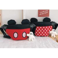 Tas Selempang Mickey minnie anak, Tas pinggang lucu anak - mickey