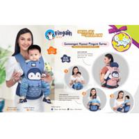 Baby Joy Gendongan Bayi Model Hipseat Pinguin Series - BJG 3038
