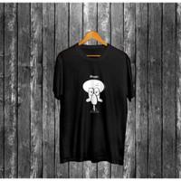 Kaos Pria Distro Happy Squidward OP090 Fashion Pria Baju Pria