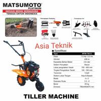 mesin bajak sawah traktor mini MTM750 Matsumoto