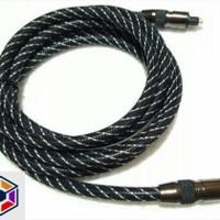 Kabel Digital Audio Optical TosLink 2M Kevlar High Quality Cable