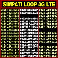 Nomor Cantik simPATI LOOP AABB & ABAB